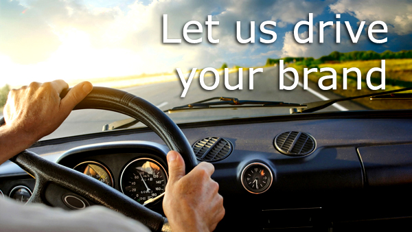 Drive your brand copy