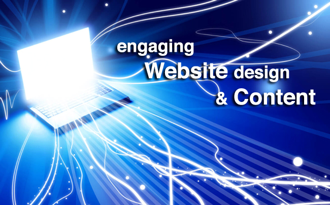 ENGAGING WEBSITE DESIGN & CONTENT