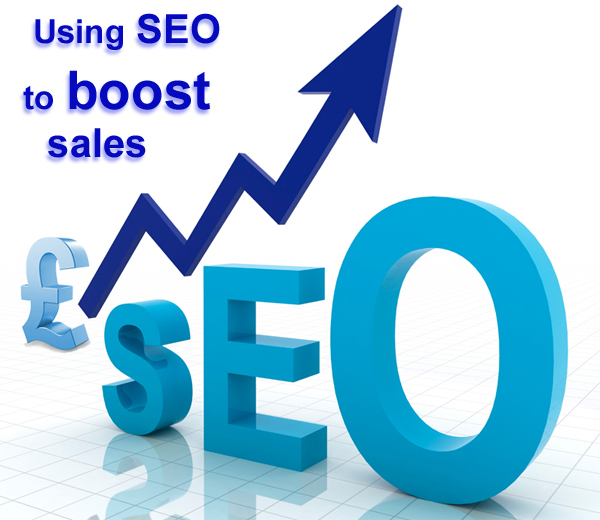 SEO BOOSTS SALES